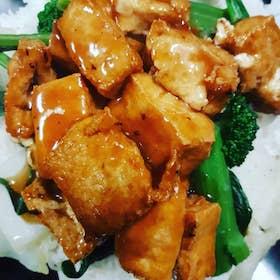 雜菜豆腐飯