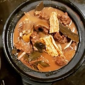 支竹羊腩飯